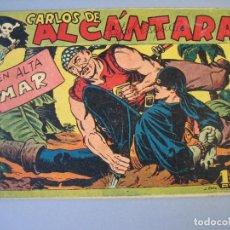 Tebeos: CARLOS DE ALCANTARA (1955, MAGA) 16 · 26-X-1955 · EN ALTA MAR. Lote 175068290