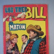 Tebeos: TRES BILL, LOS (1958, MAGA) 13 · 11-VI-1958 · EL MATON. Lote 135787566