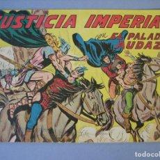 Tebeos: PALADIN AUDAZ, EL (1957, MAGA) 24 · 23-X-1957 · JUSTICIA IMPERIAL. Lote 135788178