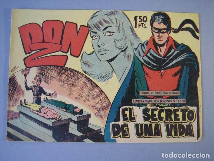 DON Z (1959, MAGA) 11 · 23-XII-1959 · EL SECRETO DE UNA VIDA (Tebeos y Comics - Maga - Don Z)