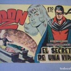 Tebeos: DON Z (1959, MAGA) 11 · 23-XII-1959 · EL SECRETO DE UNA VIDA. Lote 135788518