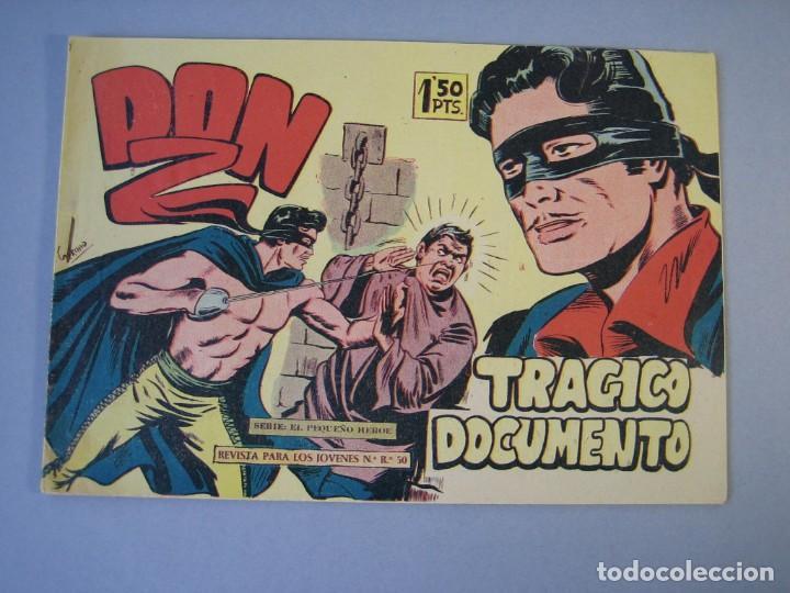 DON Z (1959, MAGA) 12 · 30-XII-1959 · TRÁGICO DOCUMENTO (Tebeos y Comics - Maga - Don Z)
