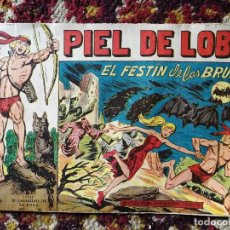 Tebeos: COMIC, PIEL DE LOBO, EL FESTÍN DE LAS BRUJAS- SERIE EL CABALLERO DE LA ROSA , MAGA.. Lote 135802302