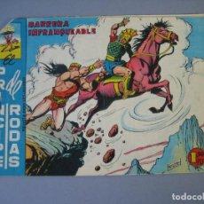 Tebeos: COLOSO, EL / EL PRINCIPE DE RODAS (1960, MAGA) 36 · 14-VI-1961 · BARRERA INFRANQUEABLE. Lote 135803410