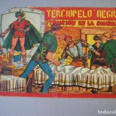 Tebeos: TERCIOPELO NEGRO (1954, MAGA) 20 · 22-XII-1954 · TRAICION EN LA SOMBRA. Lote 135804138