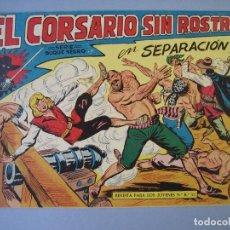 Tebeos: CORSARIO SIN ROSTRO, EL (1959, MAGA) 11 · 20-V-1959 · SEPARACION. Lote 135806118