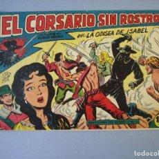 Tebeos: CORSARIO SIN ROSTRO, EL (1959, MAGA) 13 · 3-VI-1959 · LA ODISEA DE ISABEL. Lote 135806938