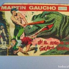 Tebeos: MARTIN GAUCHO (1964, MAGA) 24 · 24-VI-1964 · WOGA EL USURPADOR. Lote 136086690