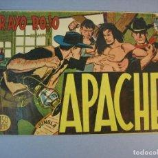 Tebeos: APACHE (1958, MAGA) 18 · 19-V-1959 · RAYO ROJO. Lote 136086870