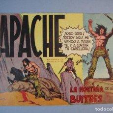 Tebeos: APACHE (1958, MAGA) 16 · 5-V-1959 · LA MONTAÑA DE LOS BUITRES. Lote 136087002