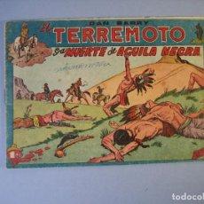 Giornalini: DAN BARRY EL TERREMOTO (1954, MAGA) 17 · 1-XII-1954 · LA MUERTE DE AGUILA NEGRA. Lote 175068409