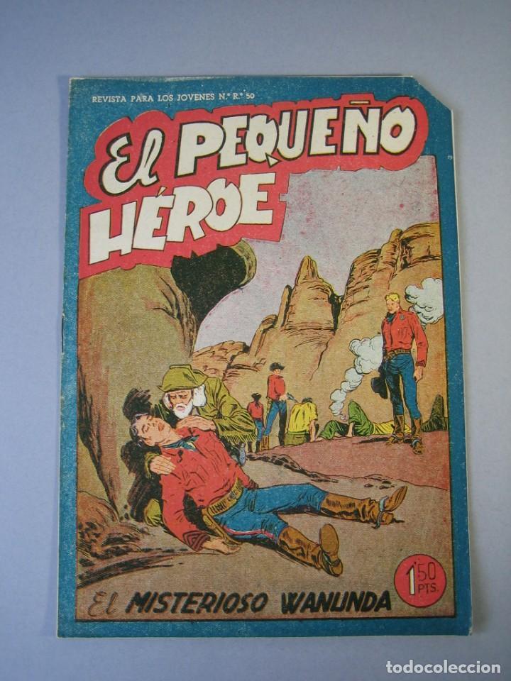 PEQUEÑO HEROE, EL (1957, MAGA) 28 · 20-XI-1950 · EL MISTERIOSO WANUNDA (Tebeos y Comics - Maga - Pequeño Héroe)