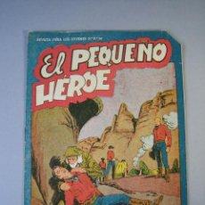Tebeos: PEQUEÑO HEROE, EL (1957, MAGA) 28 · 20-XI-1950 · EL MISTERIOSO WANUNDA. Lote 136219670
