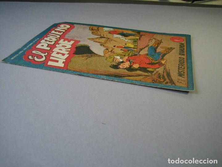 Tebeos: PEQUEÑO HEROE, EL (1957, MAGA) 28 · 20-XI-1950 · EL MISTERIOSO WANUNDA - Foto 3 - 136219670