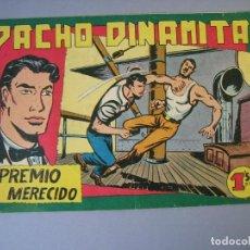 Tebeos: PACHO DINAMITA (1951, MAGA) 138 · 27-III-1957 · PREMIO MERECIDO. Lote 136220522