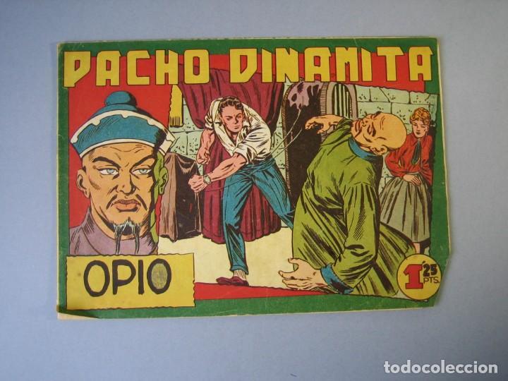 PACHO DINAMITA (1951, MAGA) 37 · 13-V-1953 · OPIO (Tebeos y Comics - Maga - Pacho Dinamita)
