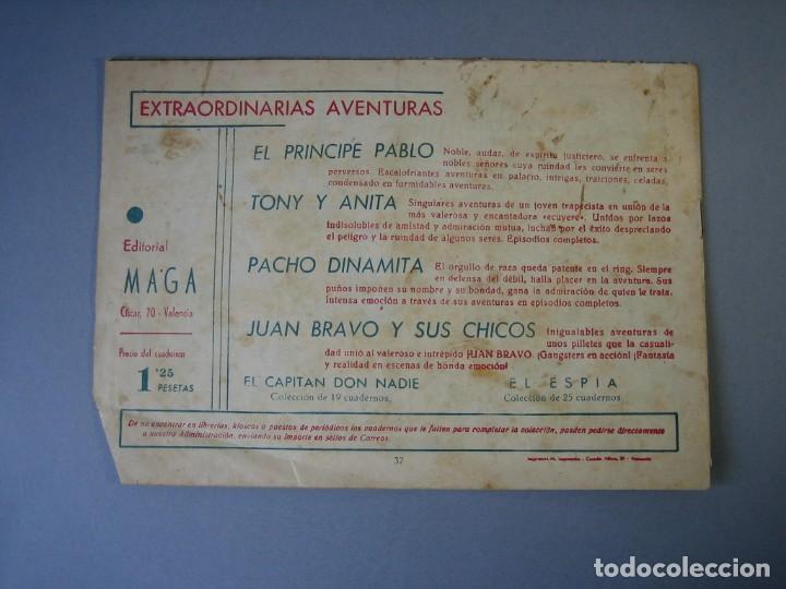 Tebeos: PACHO DINAMITA (1951, MAGA) 37 · 13-V-1953 · OPIO - Foto 2 - 136220614