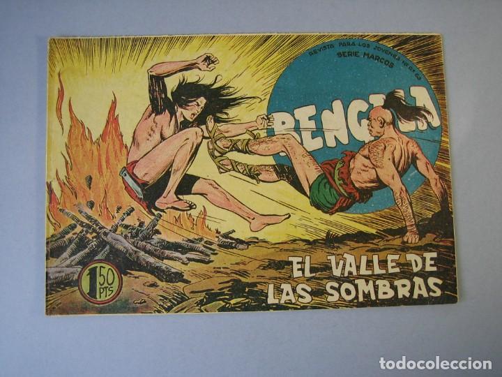 BENGALA (1959, MAGA) 36 · 25-XI-1959 · EL VALLE DE LAS SOMBRAS (Tebeos y Comics - Maga - Bengala)