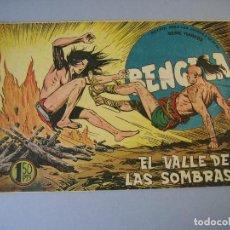 Tebeos: BENGALA (1959, MAGA) 36 · 25-XI-1959 · EL VALLE DE LAS SOMBRAS. Lote 136221178