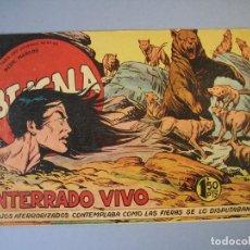 Tebeos: BENGALA (1959, MAGA) 13 · 17-VI-1959 · ENTERRADO VIVO. Lote 136221358