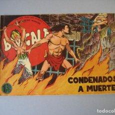 Tebeos: BENGALA (1959, MAGA) 11 · 3-VI-1959 · CONDENADOS A MUERTE. Lote 136221954