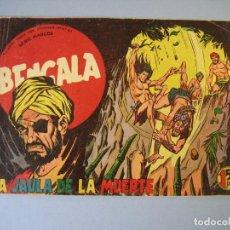 Tebeos: BENGALA (1959, MAGA) 7 · 6-V-1959 · LA JAULA DE LA MUERTE. Lote 136222182