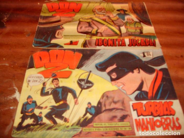 DON Z ORIGINAL NºS 51 Y 65. EDITORIAL MAGA 1959. (Tebeos y Comics - Maga - Don Z)