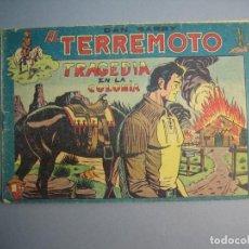 Giornalini: DAN BARRY EL TERREMOTO (1954, MAGA) 74 · 6-II-1957 · TRAGEDIA EN LA COLONIA. Lote 175068508