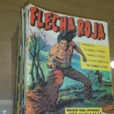Tebeos: REVISTA FLECHA ROJA CASI COMPLETA 65 NUMEROS A FALTA SOLO DEL Nº 18-29 Y 30 - MAGA - ORIGINAL. Lote 136888518