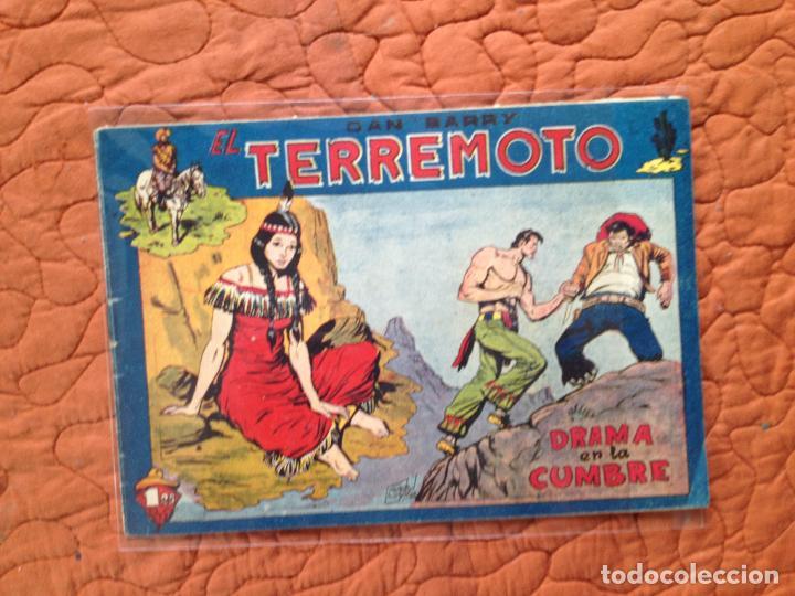 DAN BARRY EL TERREMOTO-Nº39 (Tebeos y Comics - Maga - Dan Barry)