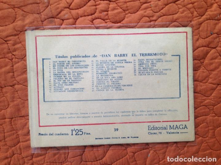Tebeos: DAN BARRY EL TERREMOTO-Nº39 - Foto 2 - 137129710