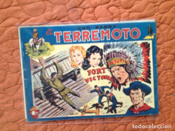 DAN BARRY EL TERREMOTO-Nº40 (Tebeos y Comics - Maga - Dan Barry)