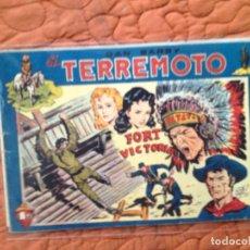 Tebeos: DAN BARRY EL TERREMOTO-Nº40. Lote 137129738