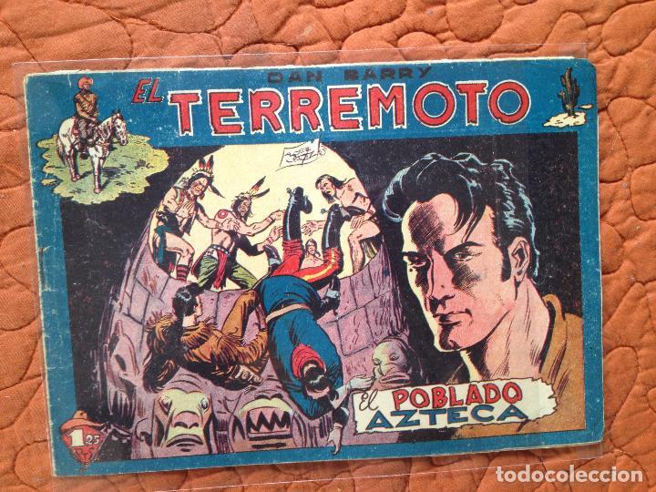DAN BARRY EL TERREMOTO-Nº44 (Tebeos y Comics - Maga - Dan Barry)