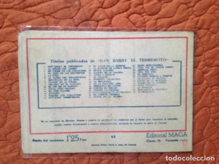 Tebeos: DAN BARRY EL TERREMOTO-Nº44 - Foto 2 - 137129846