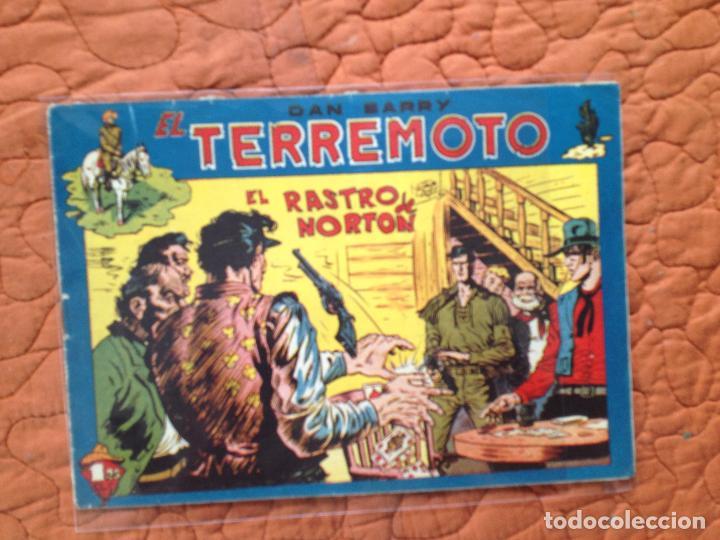DAN BARRY EL TERREMOTO-Nº48 (Tebeos y Comics - Maga - Dan Barry)
