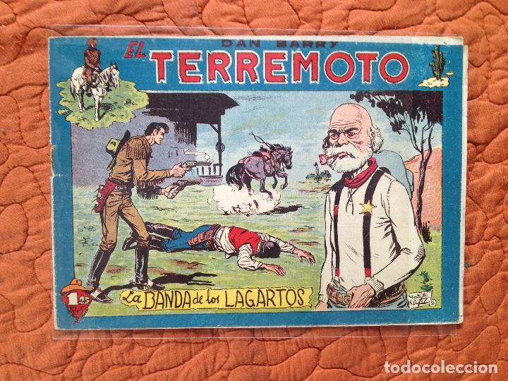 DAN BARRY EL TERREMOTO-Nº54 (Tebeos y Comics - Maga - Dan Barry)