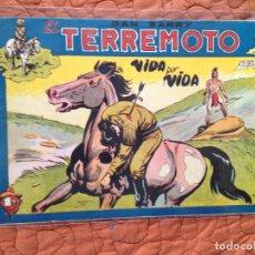 Tebeos: DAN BARRY EL TERREMOTO-Nº34. Lote 137132166