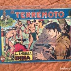Tebeos: DAN BARRY EL TERREMOTO-Nº33. Lote 137132186