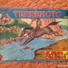 Tebeos: DAN BARRY EL TERREMOTO-Nº19. Lote 137132810
