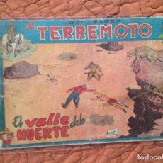 Tebeos: DAN BARRY EL TERREMOTO-Nº16. Lote 137132898