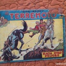Tebeos: DAN BARRY EL TERREMOTO-Nº11. Lote 137133318