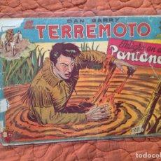 Tebeos: DAN BARRY EL TERREMOTO-Nº9. Lote 137133514