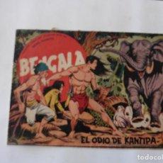 Tebeos: BENGALA 1ª LOTE DE 13 CUADERNILLOS ORIGINAL. Lote 137279130