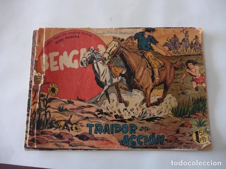 Tebeos: BENGALA 1ª LOTE DE 13 CUADERNILLOS ORIGINAL - Foto 2 - 137279130