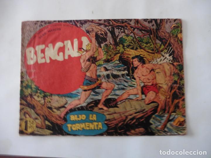 Tebeos: BENGALA 1ª LOTE DE 13 CUADERNILLOS ORIGINAL - Foto 4 - 137279130