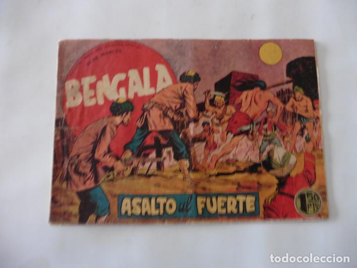 Tebeos: BENGALA 1ª LOTE DE 13 CUADERNILLOS ORIGINAL - Foto 9 - 137279130