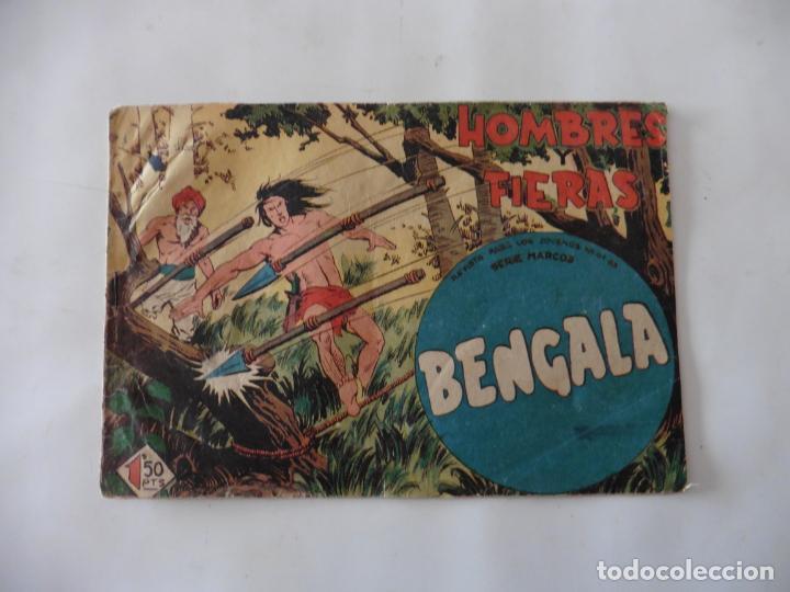 Tebeos: BENGALA 1ª LOTE DE 13 CUADERNILLOS ORIGINAL - Foto 23 - 137279130