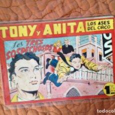 Tebeos: TONY Y ANITA-LOS ASES DEL CIRCO-Nº89. Lote 137408974