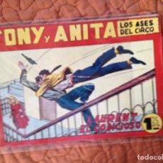 Tebeos: TONY Y ANITA-LOS ASES DEL CIRCO-Nº88. Lote 137409030